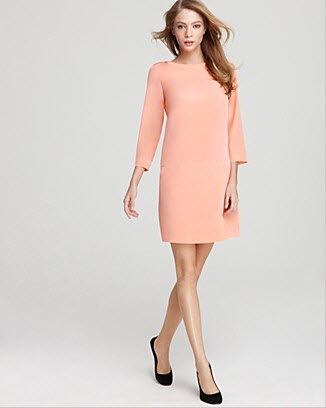 Tibi Dress on Tibi Dress Essential Shift