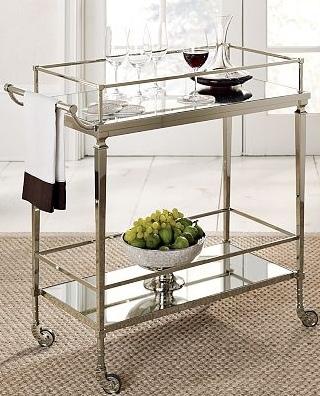 Silver cart