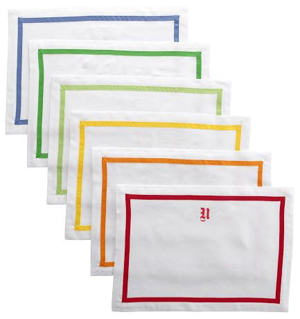 Grosgrain Border Placemats