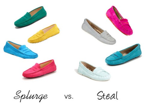 Splurge vs. Steal - Driving Loafers