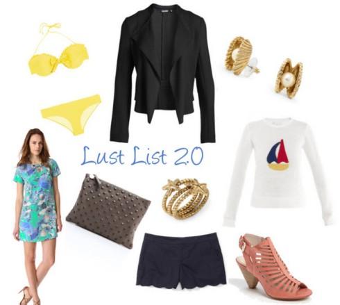 Lust List 2.0