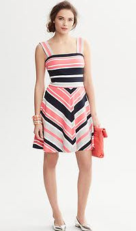 Milly Striped F&F Dress