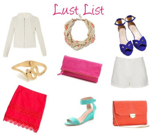 WCH Lust List