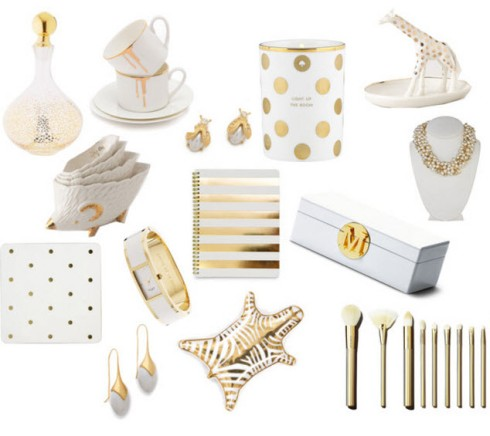 White and Gold Holiday