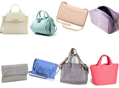 Pastel Colored Spring Handbags