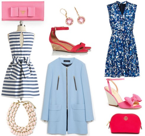 Lust List Pink and Blue