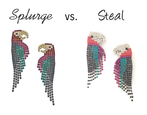 Splurge vs. Steal Parrots