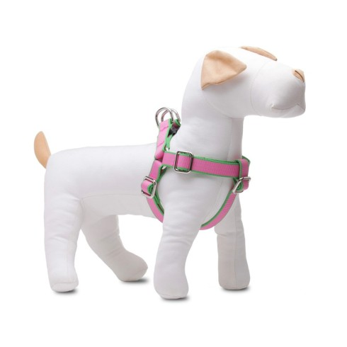 harry-barker-chelsea-dog-harness-extra-large-pink-and-green