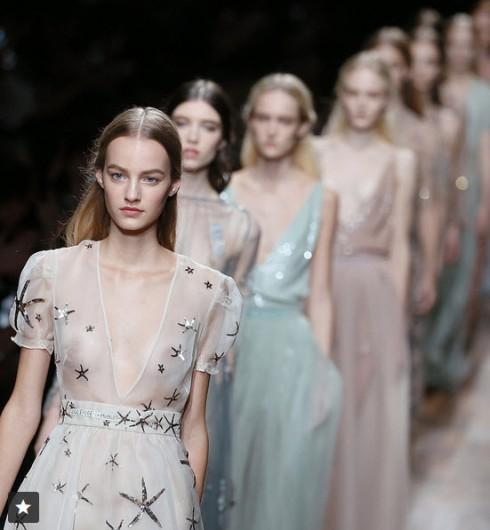 Fashion Week Gowns