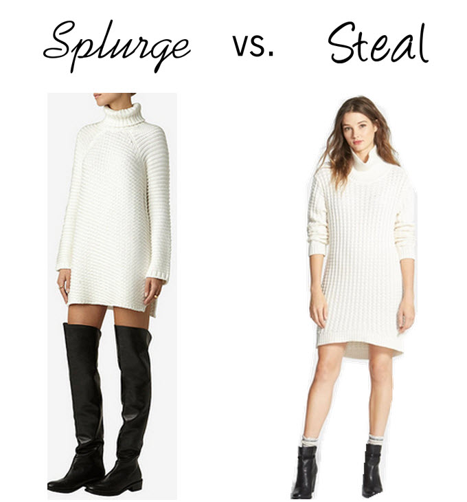 Fashion style Wear to what under sweater dress for lady