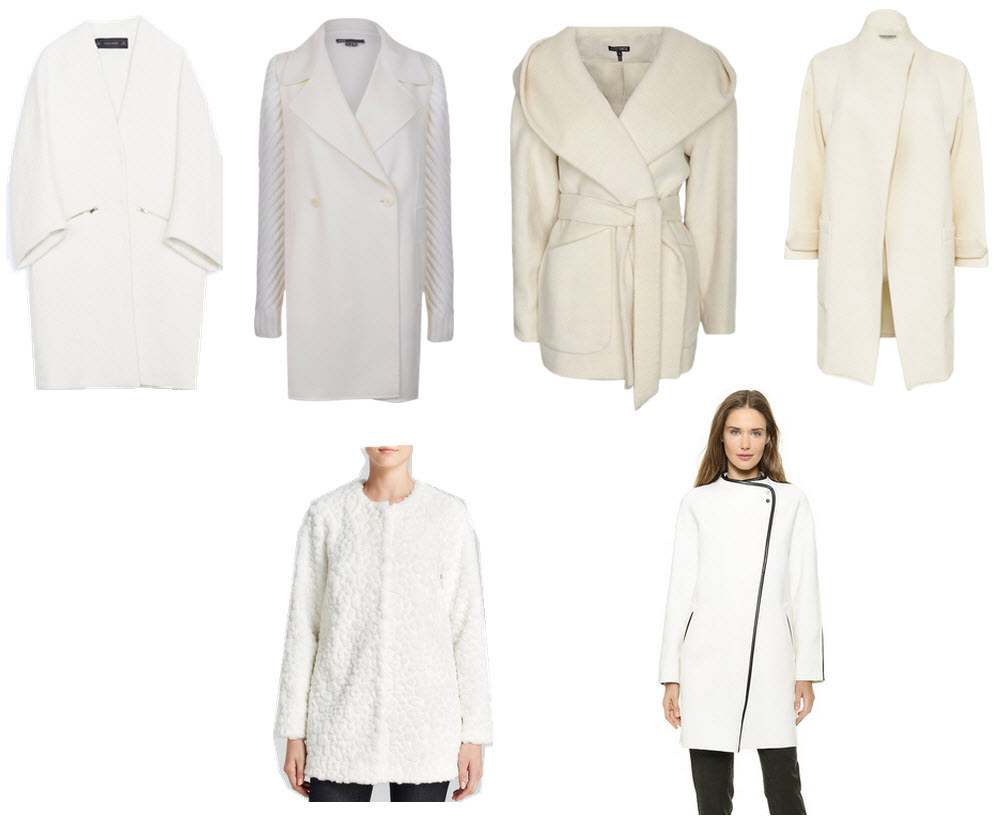 Winter White Sweater Coat Coat Racks