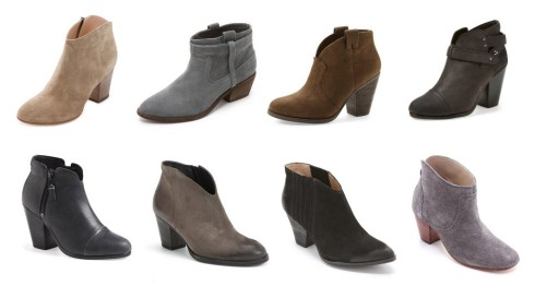 Fall Bootie Favorites